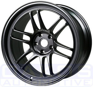 "Enkei RPF1 Wheel 17x9"", 45mm, 5x114.3, SINGLE Gunmetal Rim for S2000"