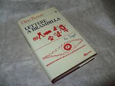 DINO BUZZATI LETTERE A BRAMBILLA 1985 LUCIANO SIMONELLI DE AGOSTINI EDITORE
