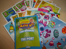 MOSHI MONSTERS MASH UP Code Breakers series 3 cards Pick 2 from list NEW
