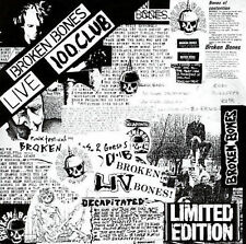 Broken Bones Live 100 Club CD *SEALED* Discharge Punk Oi