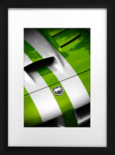 2010 Dodge Viper SRT10 Photo Art Print 13x19 Snakeskin Green Mancave Poster 2011