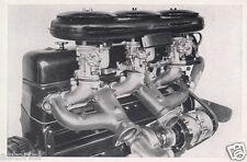 Mercedes - Benz 300 S Cabrio * Motor-Darstellung * orig. Sammelbild * 50er Jahre