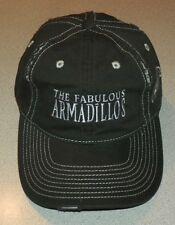 The Fabulous Armadillos - Baseball Cap - Adjustable Strap Baseball Hat - Black