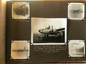 WW2 RAF Photograph Album - Italy/Greece 1944/45