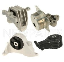 For Saab 9-3 05-11 Front Left and Right Engine Mounts & Transmission Mount KIT