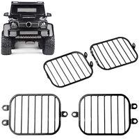 For Traxxas TRX-6 Benz G63 G500 RC Crawler Car Headlight Lampshade Metal 1 Pair
