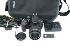 Nikon D5600 DSLR Camera 24.2MP with 18-55mm, Shutter Count 2610, Excellent Cond.