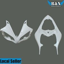 Unpainted ABS Fairing Front Upper Cowl & Rear Tail Fits Yamaha YZF R1 2007-2008