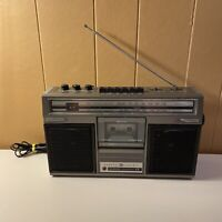 Vintage GE General Electric AM/FM Portable Cassette Tape Radio Boombox # 3-5253A