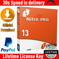 Nitro pdf pro Entreprise 13 ✔Full version 2020✔Lifetime Activation✔ 64 bit