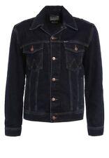 Wrangler Men's Denim Jacket Blue Black Xx-large