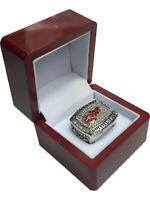 1998 Detroit Redwings YZERMAN Stanley Cup SP Brass Championship Ring & Wood Box