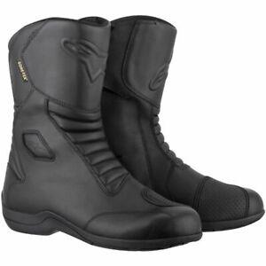 Alpinestars Web Mens Gore-Tex Black Motorcycle Boots