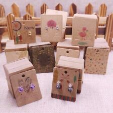 Jewelry Display Card Earrings Packaging 100 Pcs/Lot Paperboard Studs Cards Tools