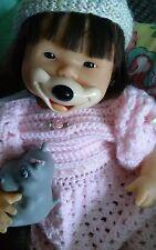 Ooak Vintage Asian Nenuco Reborn Baby Girl