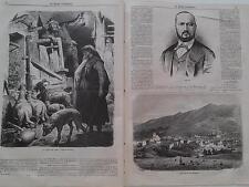 1866 El Museo Universal 9 San Juan de las Abadesas, Tipos Aragoneses, Tamberlik