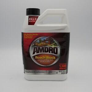 Amdro Roach Block Home Perimeter Roach Bait Discontinued Rare Sealed