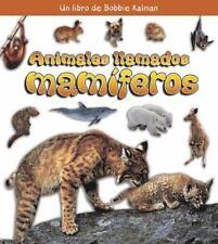 Animales Llamados Mamiferos/ Animals Called Mammals (Que Tipo De-ExLibrary