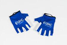 New 2017 Men's Jakroo UHC Pro Cycling Propel Half-Finger Race Gloves, Blue, M