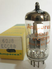 1976 Blackburn Mullard/Amperex 6DJ8 ECC88 tube - TV7B tested @93/90,min:62/62