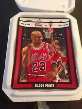 "Michael Jordan ""25,000 Points"" Collector Plate Bradford EX/Upper Deck"