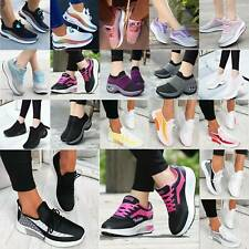 Damen Sportschuhe Laufschuhe Fitness Sneakers Schnürer Turnschuhe Sportschuhe DE