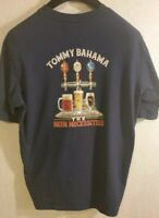 Mens Tommy Bahama T Shirt The Beer Necessities Blue Small Relax Tee