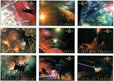BABYLON 5 SEASON 2 COMING OF SHADOWS SET OF 9 CARDS