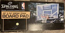"""Spalding 48"""" & 54"""" Inch Arena Foam Board Pad Basketball Backboard Model# 16648"""