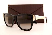 Brand New GUCCI Sunglasses 3718/S ANW HA Black/Gold/Grey Gradient Women