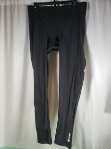 Canari Men's Pro Elite Gel Cycling Tights Padded Pants XXL  Black