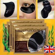 5pairs Black Collagen Crystal Eye Mask Anti Wrinkle Dark Circle Gel Eye Patch UK