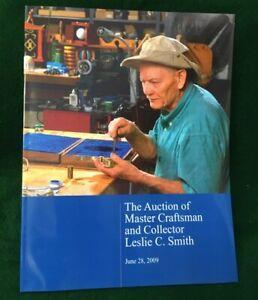 '09 Auction Catalog LESLIE C. SMITH Owen Magic Supreme SIGNED x Gertrude & Alan