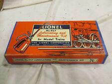 Vintage Lionel 927 Lubricating and Maintenance Kit Used Nice