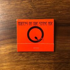 Queens Of The Stone Age Songs For The Deaf Promotional Matchbook Matches Box