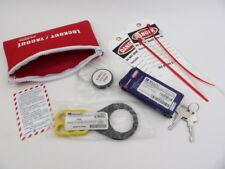 Brady LK627E 45601 Prinzing Lockout Tagout Kit Standard Belt Pack Sealed New