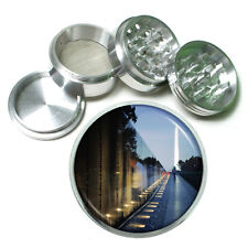 "Washington D.C. D5 Aluminum Herb Grinder 2.5"" 63mm 4 Piece Landmarks"