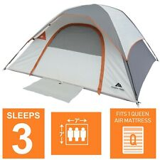 3 Person Camping Tent Double Layer Waterproof Hiking Lightweight Backpacking