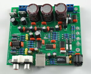 Hifi CS4398 +CS8416 DAC Board / Kit With USB Optical Fiber 32K -192K/24BIT