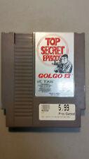 Nintendo NES, GOLGO 13 Top Secret Episode game only