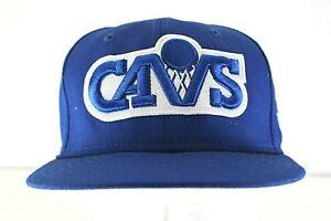"""Cavs Baseketball Blue/White Baseball Cap Fitted 7 1/8"""""""