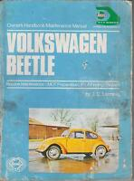 VW BEETLE 1200 1300 1500 1302 1302S 1303 1303S 1954-73 OWNERS MAINTENANCE MANUAL