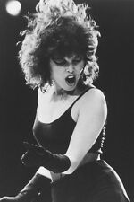 Pat Benatar 24x36 Poster cool concert iconic photo black vest gloves performing