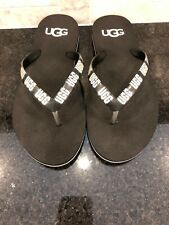 Women's Simi Graphic UGG Flip Flops- Size 7