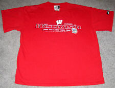 Wisconsin Badgers 2000 Final Four Basketball Puma T-Shirt- Size Adult Large