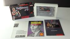 Super Nintendo Wolfenstein 3d Complete in  Box CIB SNES AUTHENTIC TESTED