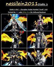 Diablo 3 Ps4/Xbox One - Charakter Paket - 150 Portale 100% Unsterblich - SC/HC