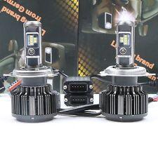 80W 6000K White LED CSP Headlight Kit  Hi/Lo H4 HB2 9003 Bulbs Pair 8000LM