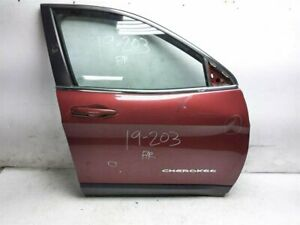2014 2015 2016 Jeep Cherokee Front Passenger Right Door W/O Blind Spot *Dented*
