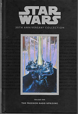 Star Wars 30th Anniversary Collection Vol 1: Freedon Nadd Uprising Hc 2007 Oop